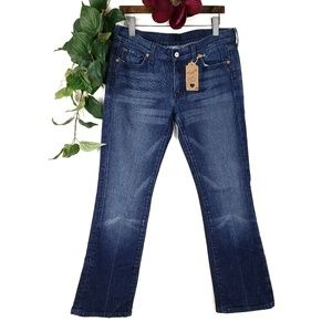 7 for All Mankind Bootcut Medium Wash Jeans Sz: 31